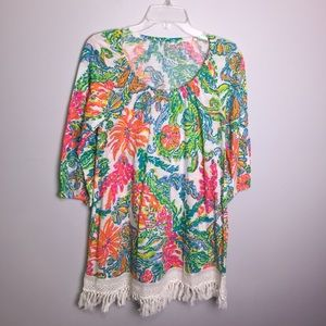 Lily Pulitzer Alia Beach Cover Up Size XS